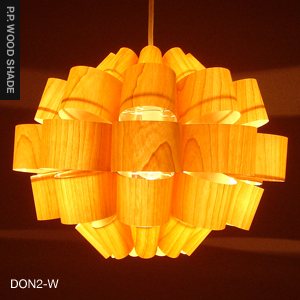 P.P. WOOD SHADE | DON2-W